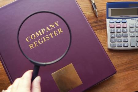 corporate register