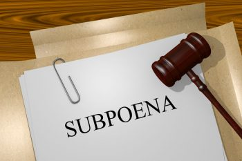 """Company Has """"Duty"""" to Provide Privilege Log in Response to Gov't Subpoena.  Is Waiver Next?"""